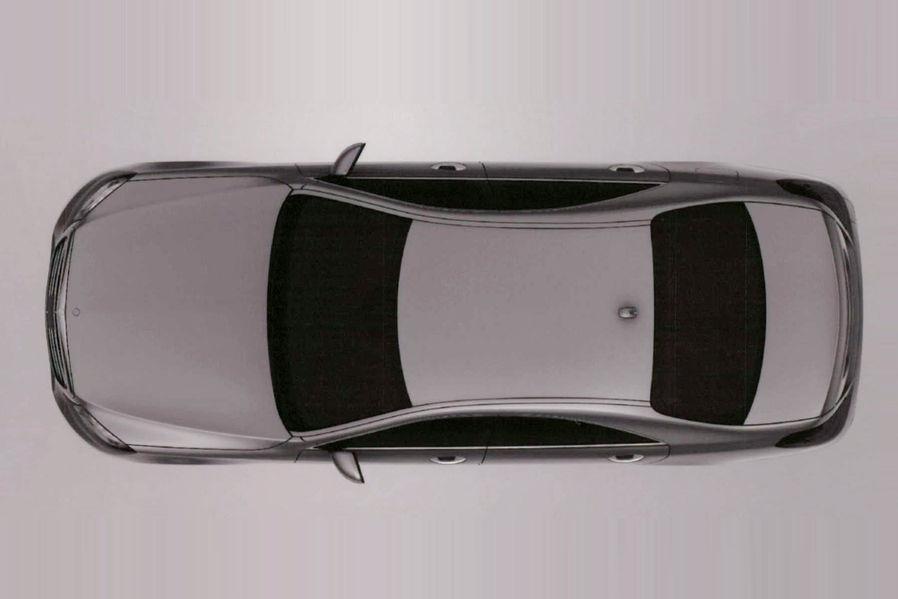 2014 Mercedes S Class S500 Hybrid Plus top