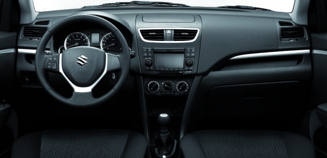2014 Suzuki Swift dashboard leaked