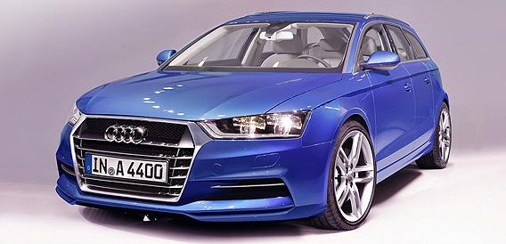 2015 Audi A4 Avant render