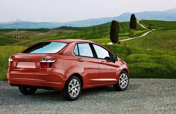 2015 Ford Ka sedan