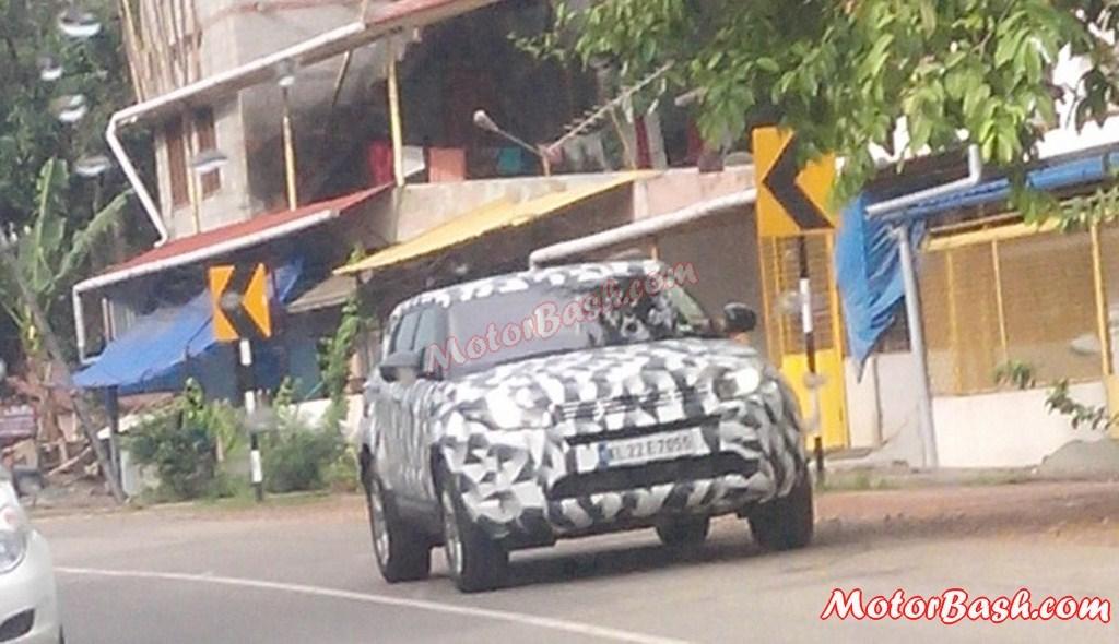 2015 Land Rover Freelander spied in Kottayam