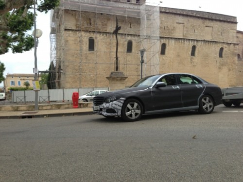 2015 Mercedes C Class spied in France