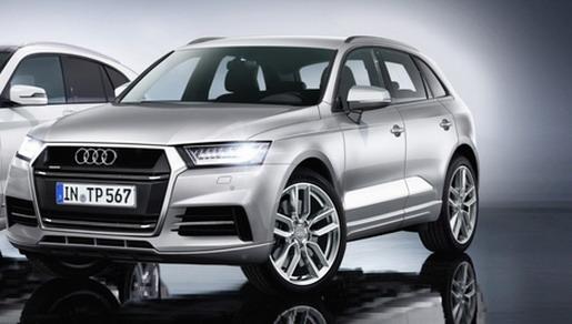 2016 Audi Q5 front three quarter