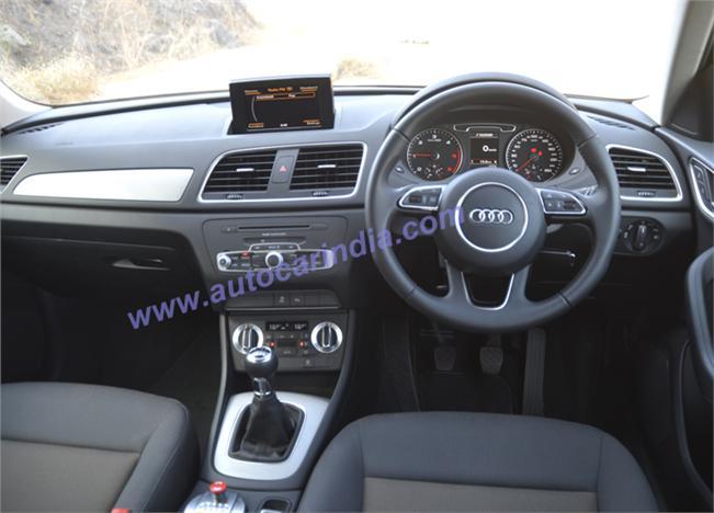 Audi Q3 Sport interior