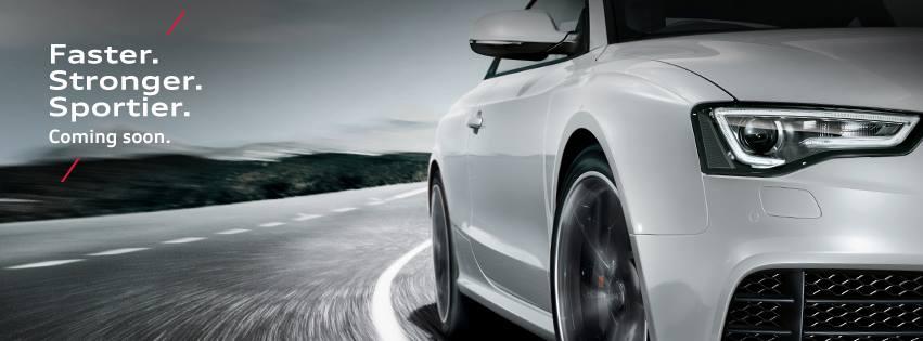 Audi RS5 India teaser
