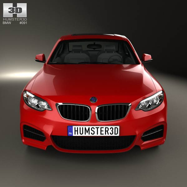 BMW 2 Series front