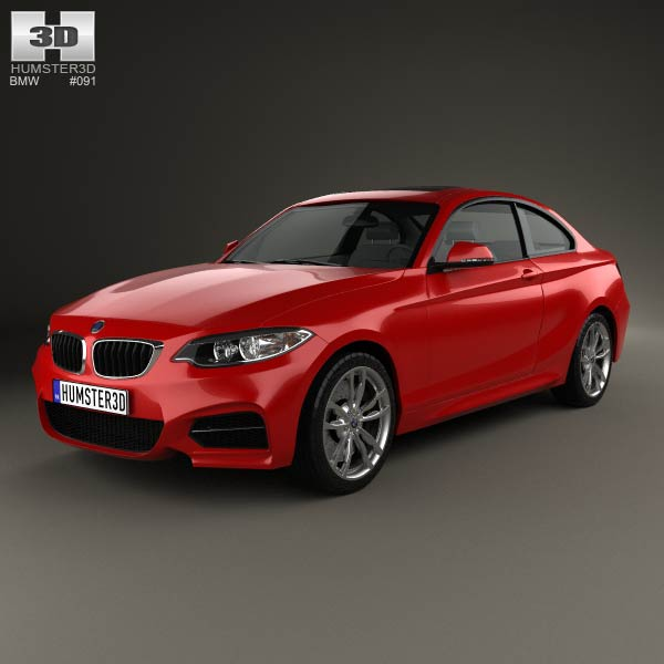 BMW 2 Series front three quarter