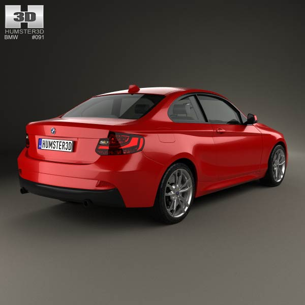 BMW 2 Series rear three quarter