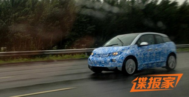 BMW i3 spied in China