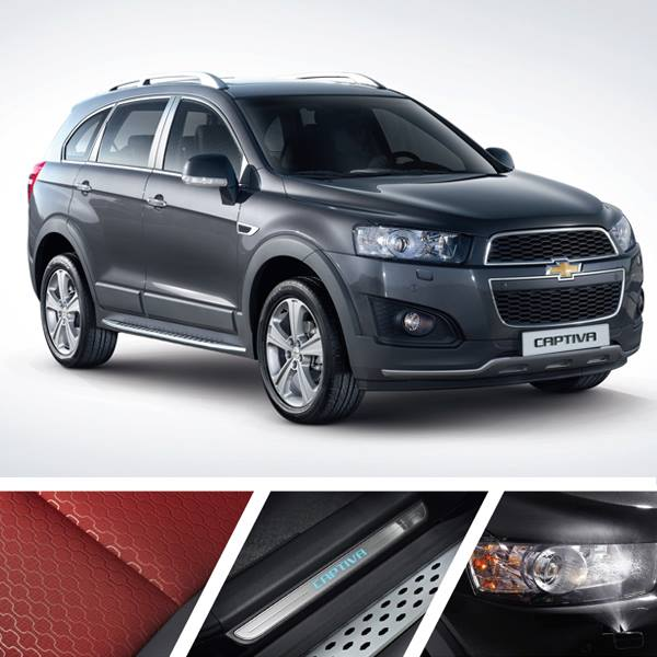 Chevrolet Captiva Dynamic Red Edition