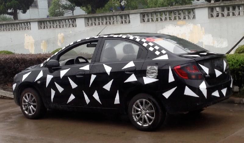 Chevrolet Sail Sedan facelift China side