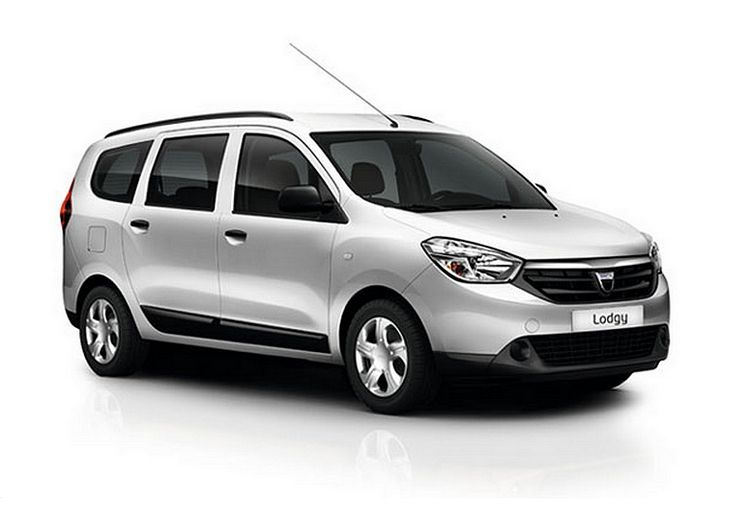 limited edition dacia lodgy silver line launched with a 1. Black Bedroom Furniture Sets. Home Design Ideas