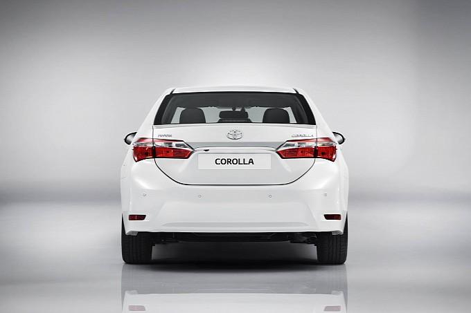 2014 European Toyota Corolla rear