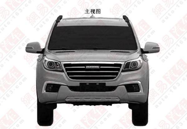 Great Wall Haval H9 front