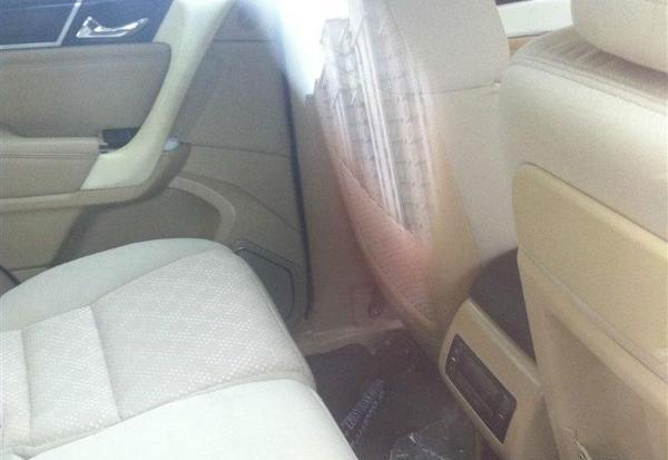 Great Wall Haval H9 spied rear seat