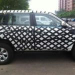 Great Wall Haval H9 spied side