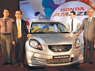 Honda Amaze launced in Nepal