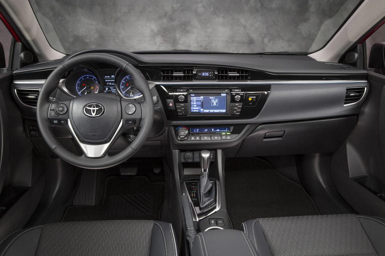 Interior Of The 2014 Toyota Corolla