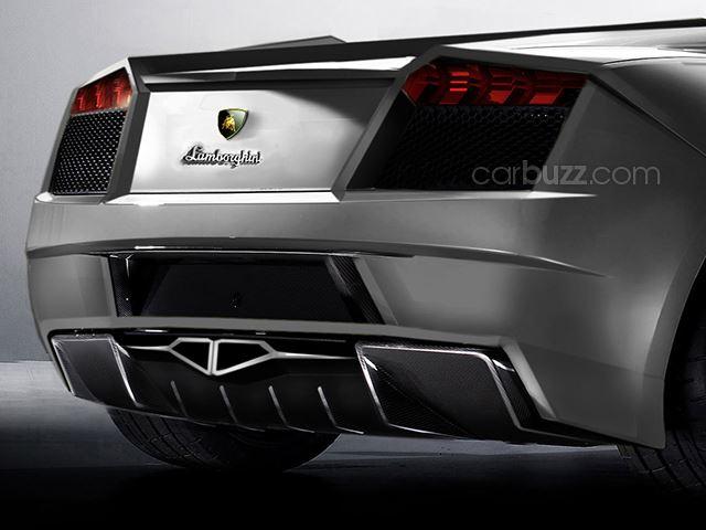 Lamborghini Cabrera rear bumper