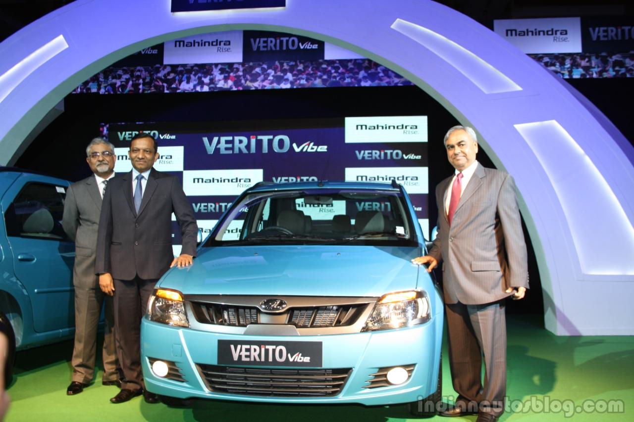 Mahindra Verito Vibe launched
