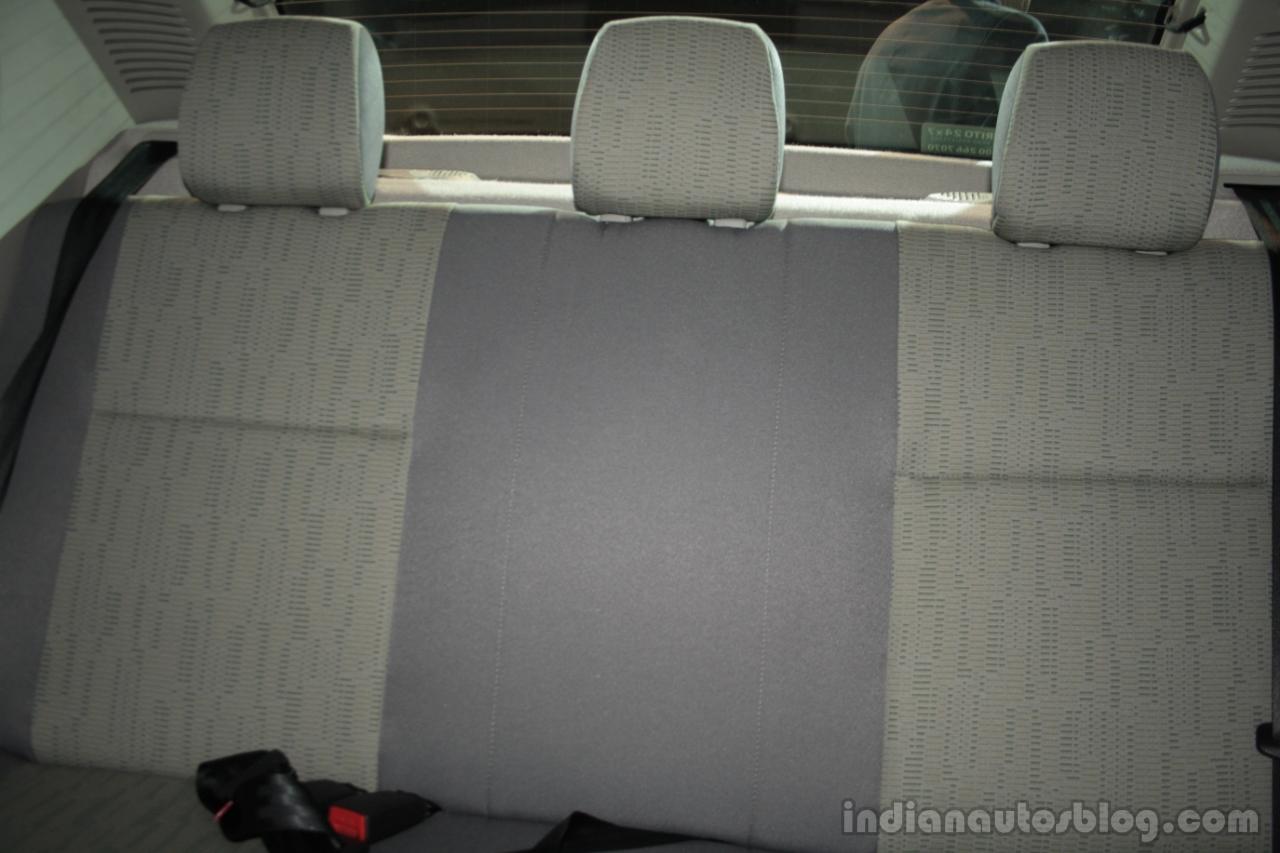 Mahindra Verito Vibe rear seat