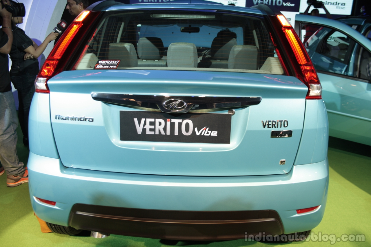 Mahindra Verito Vibe rear view