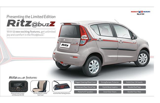 Maruti Ritz @buzz special edition features
