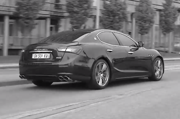 Maserati Ghibli screen capture