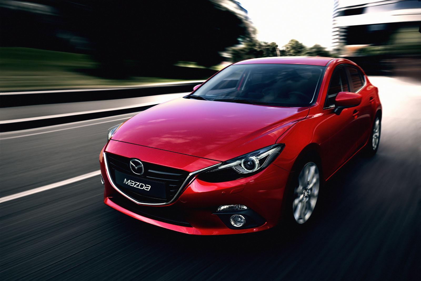 Mazda3 front three quarters