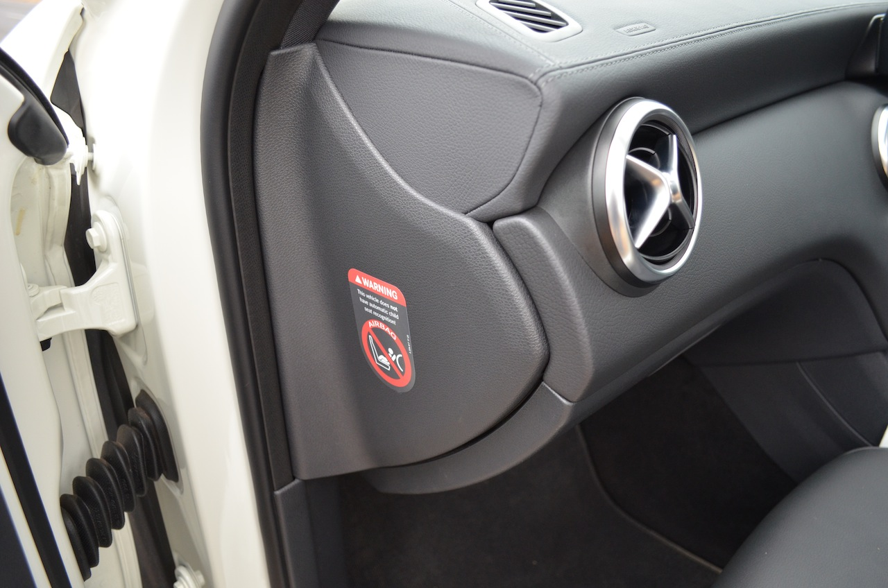 Mercedes A Class A180 fit and finish