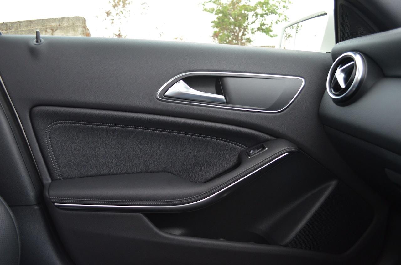 Mercedes A Class A180 interior trim
