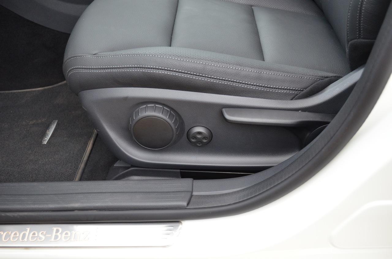 Mercedes A Class A180 passenger seat