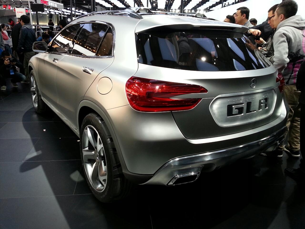 Mercedes Concept GLA rear three quarters