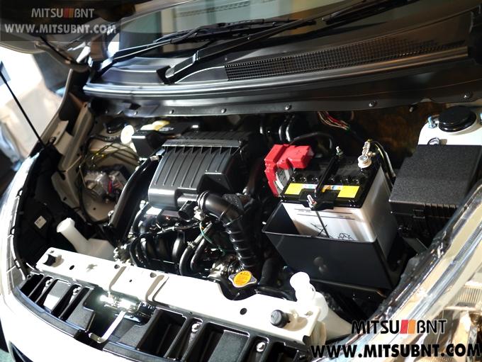 Mitsubishi Attrage engine