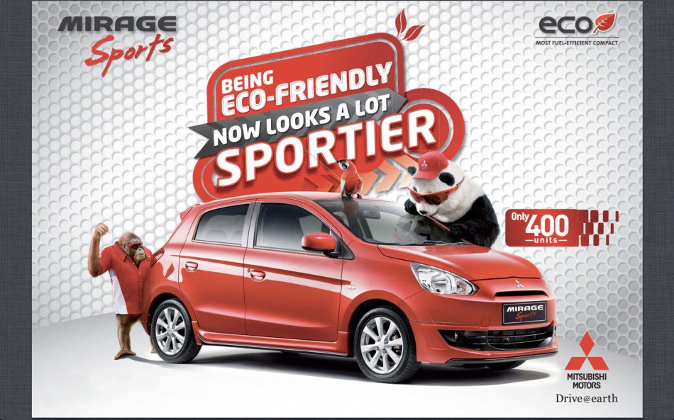 Mitsubishi Mirage SPorts limited edition Malaysia