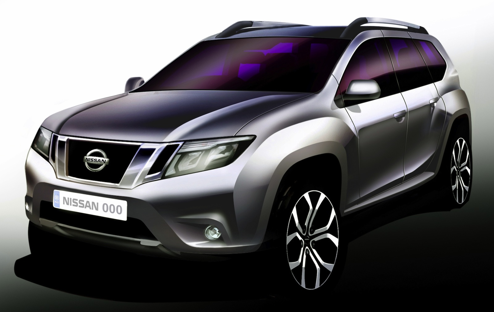 Nissan Terrano Official Sketch