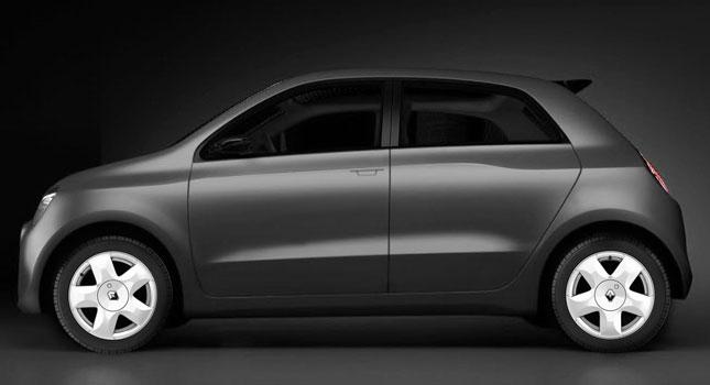Renault Twingo rendering