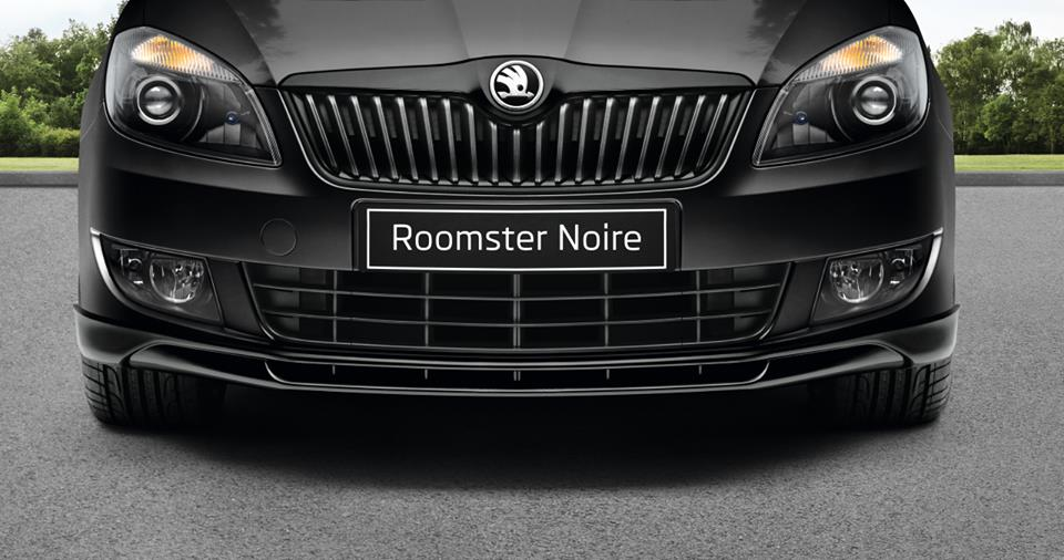 Skoda Roomster Noire grill