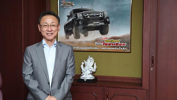 Takashi Kikuchi Managing Director Isuzu India