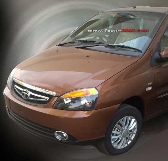 Tata Indigo eCS facelift front