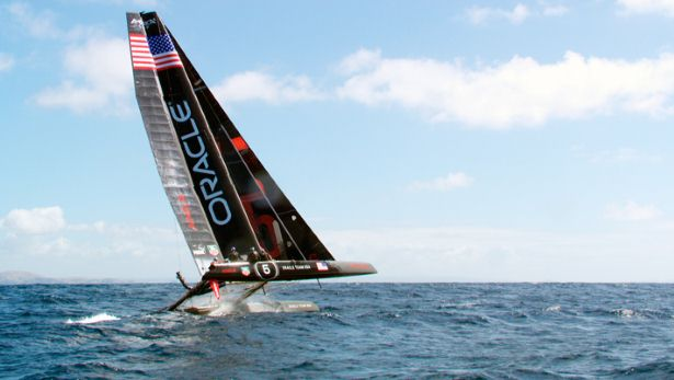 Top Gear Series 20 America Cup Yacht