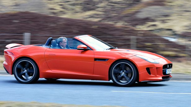 Top Gear Series 20 Jaguar F-Type