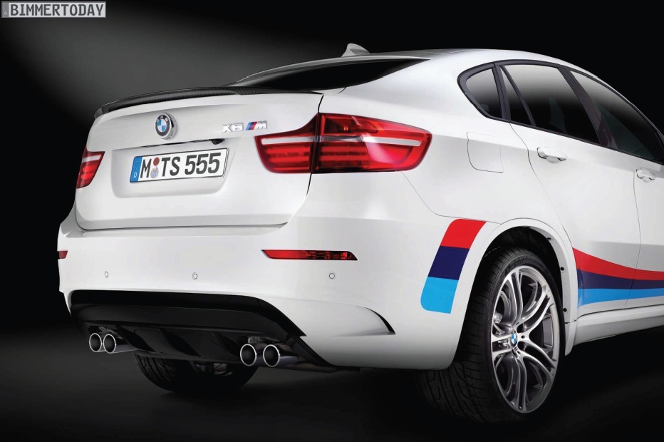 2013 BMW X6 M Design Edition rear