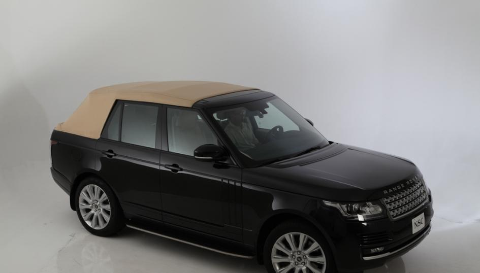 2013 Range Rover Newport Convertible roof up