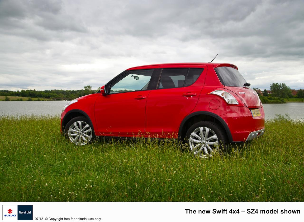 2013 Suzuki Swift 4x4 rear