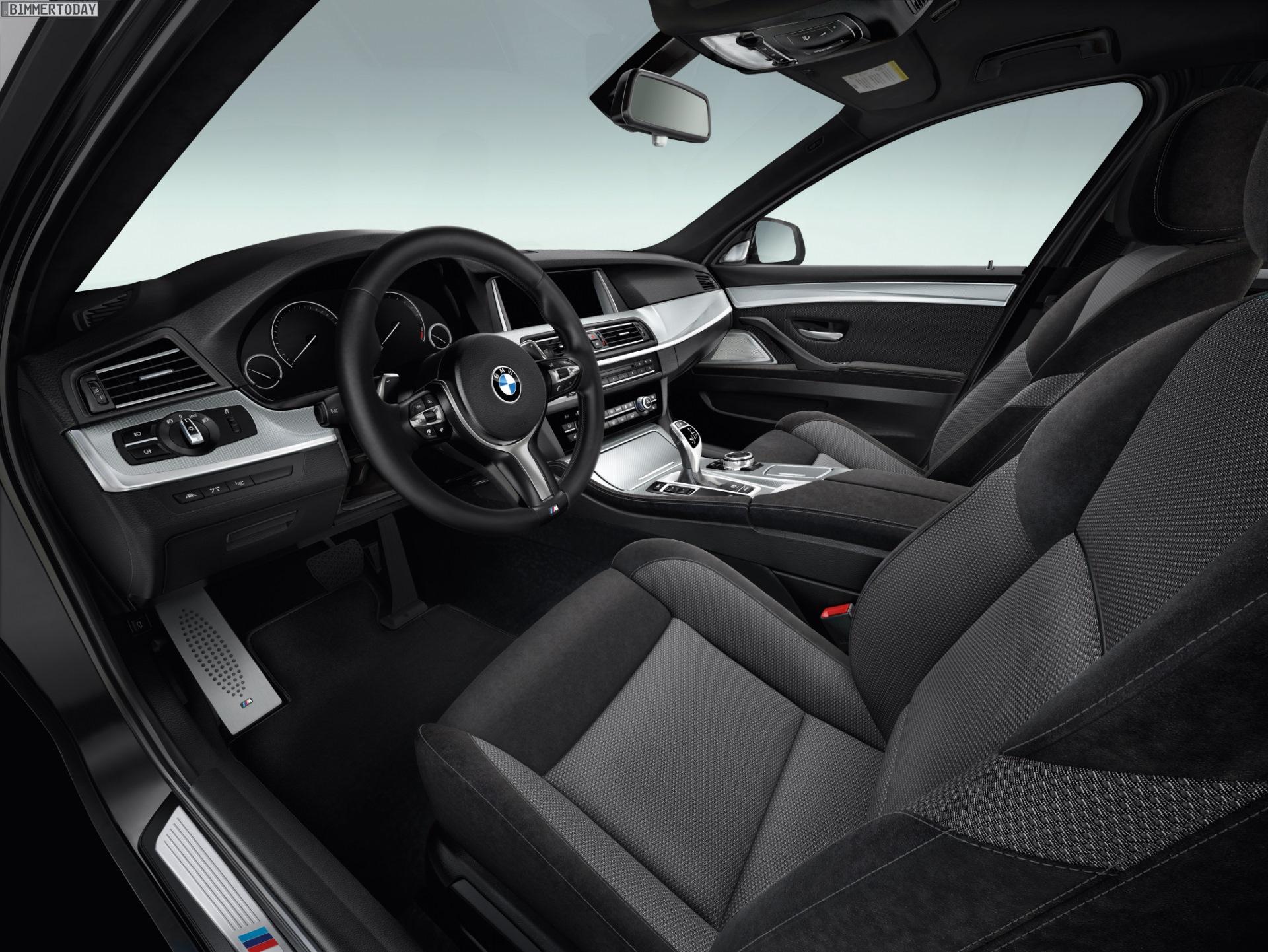 2014 BMW 5 Series M Sport Package Cabin