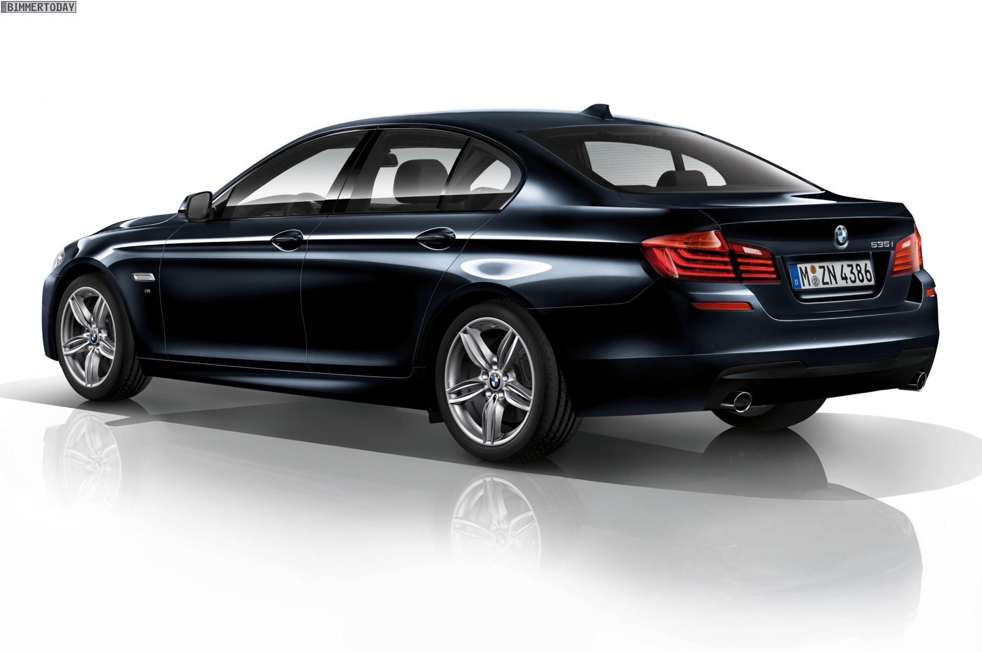 2014 BMW 5 Series M Sport Package Rear