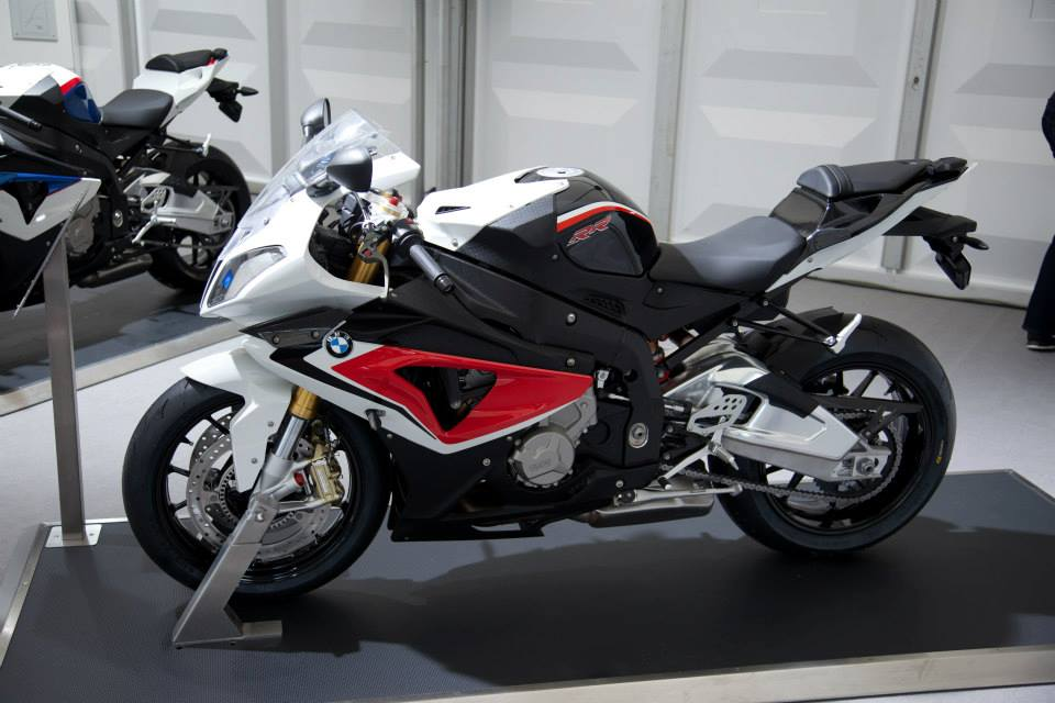 2014 BMW S 1000 RR Racing Red