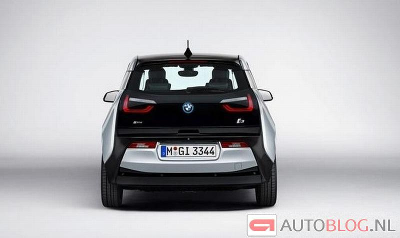 2014 BMW i3 rear