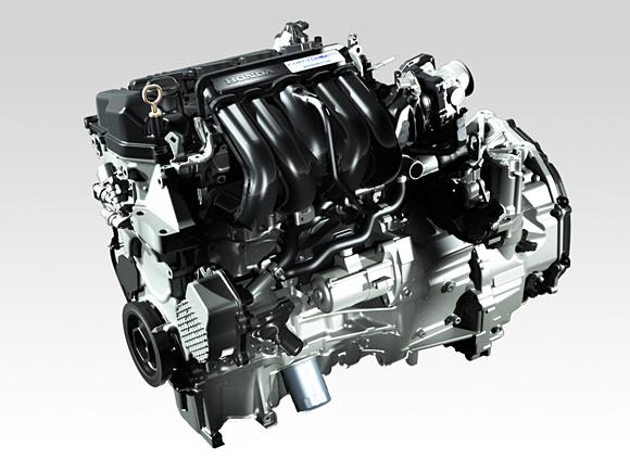 2014 Honda Jazz Fit hybrid engine